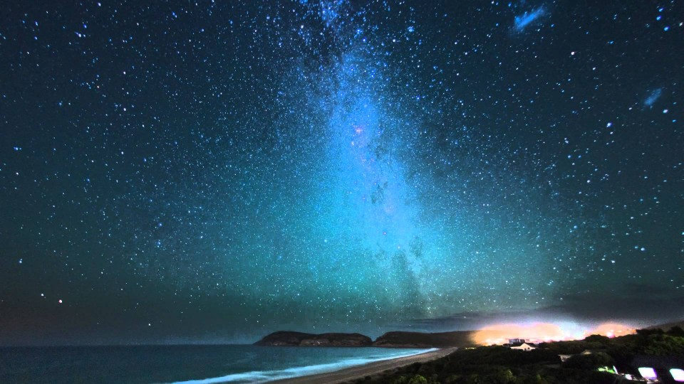Milky Way over Robberg – Time Lapse