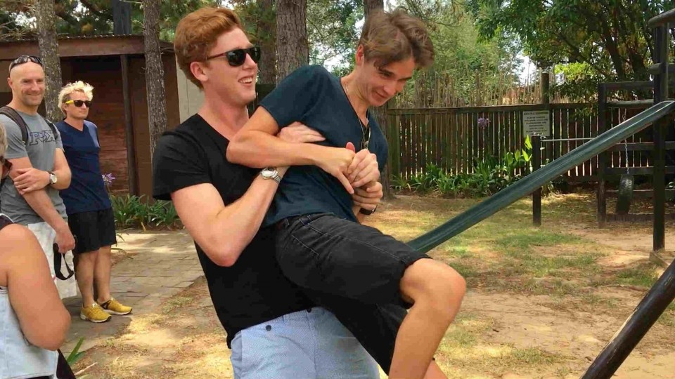 Joe vs Josh by Caspar Lee on a trip to Plett