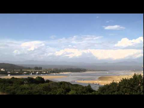 Tide coming in on Lookout Beach, Plett