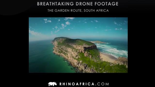 Breathtaking drone footage around Plett
