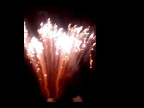 2015 New Year Central Beach Plett Fireworks