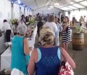 Start of the Sasfin Plett Wine & Bubbly Festival 2015