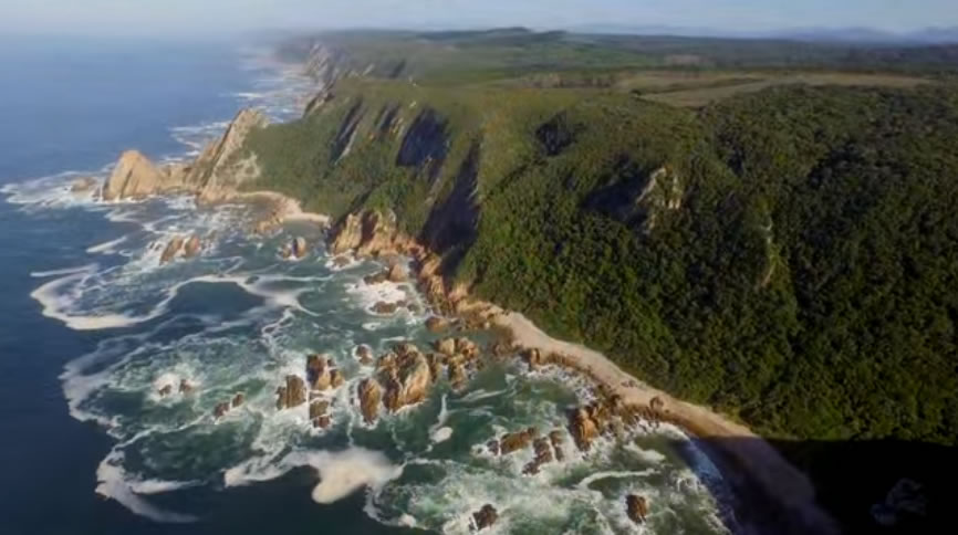 Above the Garden Route in South Africa