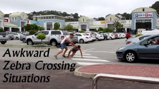 Awkward Zebra Crossing Situations