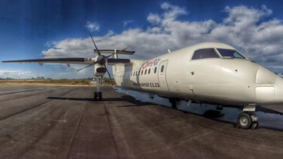 CemAir christens new plane in Plett