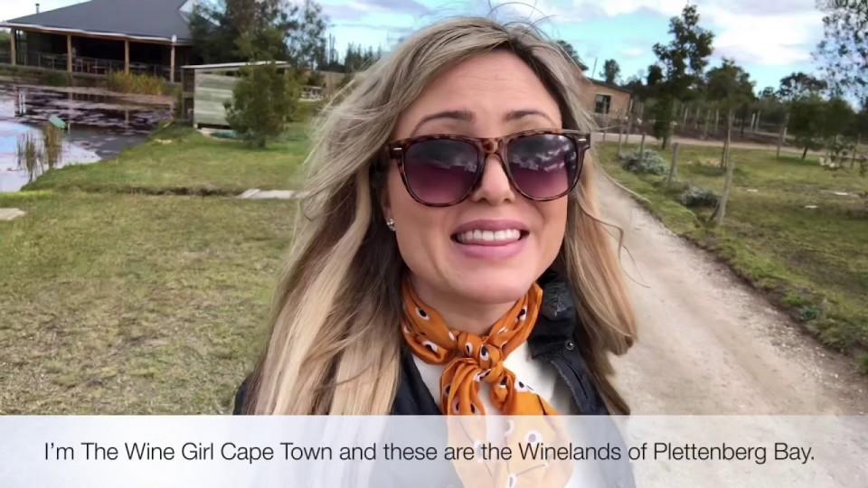 Wine Girl Cape Town in Plett Winelands